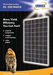 Photovoltaic Module ES - Activity Solar