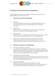 Reglement - Oberstufe Elsau-Schlatt