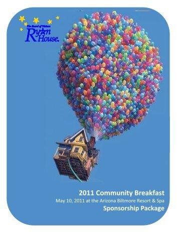 Ryan House Community Breakfast