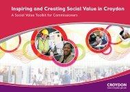 Social value toolkit - Croydon Council