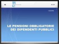 Le pensioni obbligatorie - INPS - Piscino.it