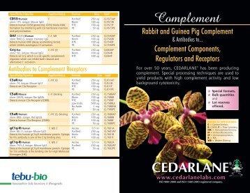 CEDARLANE www.cedarlanelabs.com - Tebu-Bio