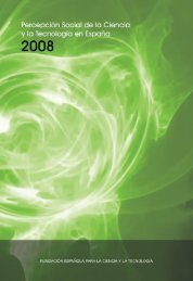Informe Percepción Social de la Ciencia y la Tecnología ... - ICONO
