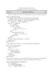 The University of Sydney Math3925 Public Key Cryptography ...