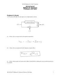 COMP 6651 Fall 2005 Midterm exam: Solutions 1  [20 points