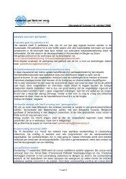 1 van 4 Nieuwsbrief nummer 14, oktober 2008 ... - Annevillegroep