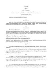 zákon č. 119/2001 Sb., kterým se stanoví pravidla pro případy ...