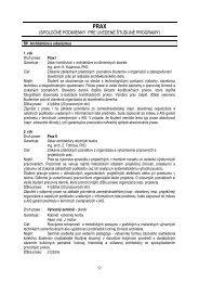 Prax - Fakulta architektúry STU