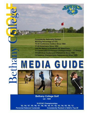Bethany College Golf - Bethany College Athletics