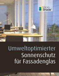 MicroShade Prospekt (Deutsch)