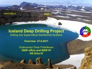 Iceland Deep Drilling Project - Georg