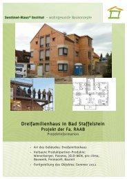 Dreifamilienhaus in Bad Staffelstein - Sentinel Haus Institut