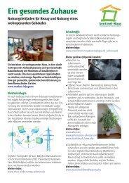 Ein gesundes Zuhause - Sentinel Haus Institut