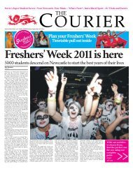 Freshers' Week special (Issue 1233) - The Courier