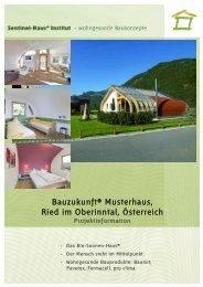 Bauzukunft® Musterhaus, Ried im Oberinntal, Österreich