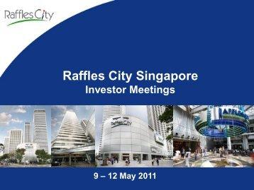 Raffles City Singapore - CapitaCommercial Trust