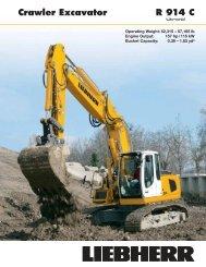 Crawler Excavator R 914 C