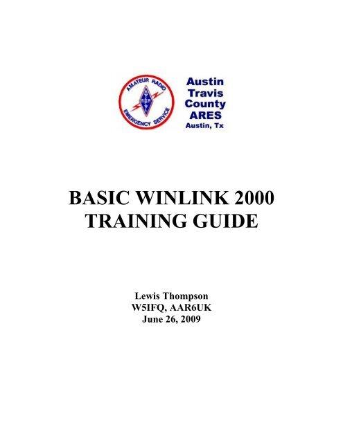 BASIC WINLINK 2000 TRAINING GUIDE - W7OEM