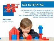 DIE ELTERN-AG - DGE-Sektion Niedersachsen