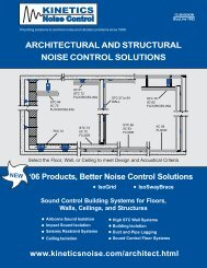 Ceiling Isolation - Building Products Index