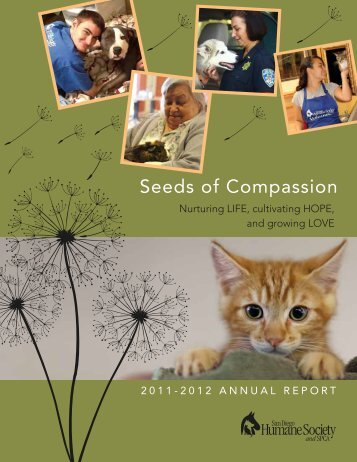 Seeds of Compassion - San Diego Humane Society and SPCA