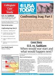 Confronting Iraq: Part I
