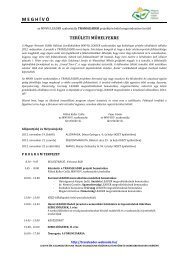 Meghívó - Magyar Nemzeti Vidéki Hálózat