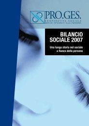 BILANCIO SOCIALE 2007 - Pro.Ges.