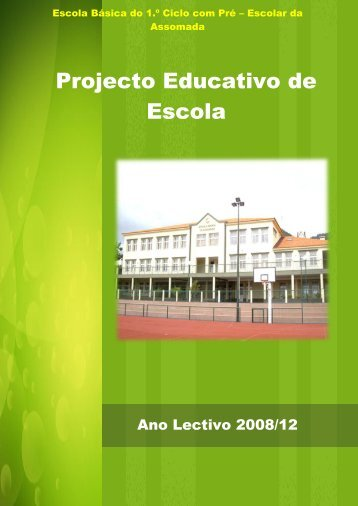 Projecto Educativo de Escola - Portal das escolas da RAM