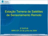 CBERS China Brazil Earth Resource Satellite - INPE-DGI