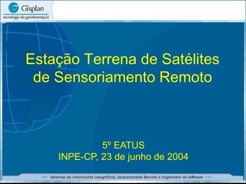 CBERS China Brazil Earth Resource Satellite - INPE-DGI