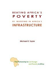 Beating Africas Poverty by Investing in Infrastructure - DAG Ethiopia