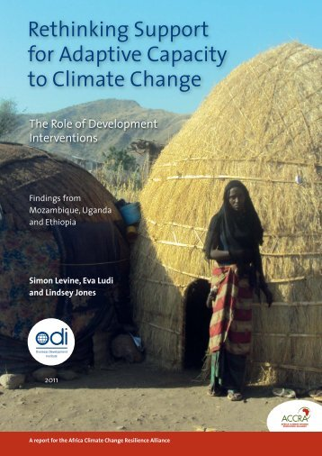 Rethinking Support for Adaptive Capacity to Climate Change - Cebem