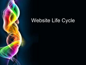 Website Life Cycle