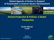 Animal Production & Policies: a Global Perspective - Global Agenda ...