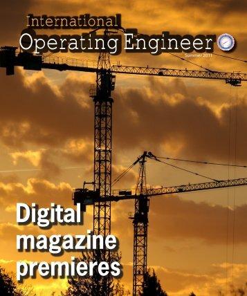 Summer 2011 - International Union of Operating Engineers