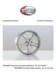 zum Download der Produktinformationen TECHART Formula II