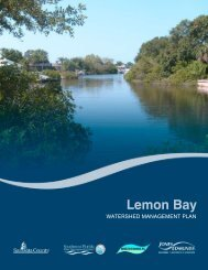 Chapter 7 - Sarasota.WaterAtlas.org
