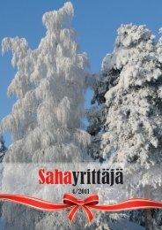 Sahayrittäjä 4/2011 - Sahayrittäjät ry