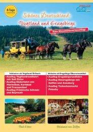 Vogtland und Erzgebirge - SKAN-TOURS Touristik International GmbH
