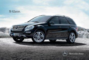 M - Klasse. - Mercedes-Benz Brunei