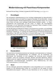 Modernisierung mit Passivhaus-Komponenten - Schulze Darup ...