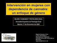 Intervención en mujeres con dependencia de cannabis - Asociación ...