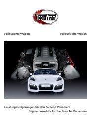 Engine powerkits for the Porsche Panamera ... - techart
