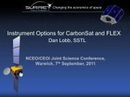Instrument Options for CarbonSat and FLEX