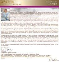 EFCNI Newsletter Januar 2013
