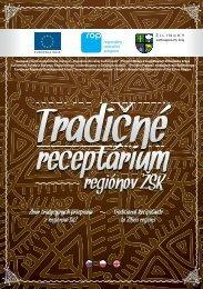 Tradičné receptárium regiónov ŽSK - Žilinský samosprávny kraj