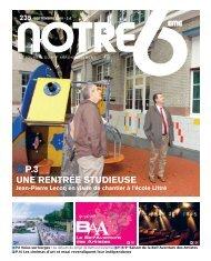 N6 SEPT 2010 - Notre 6ème - Chez