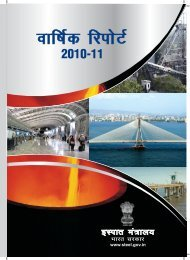 annual report (2010-11) hindi