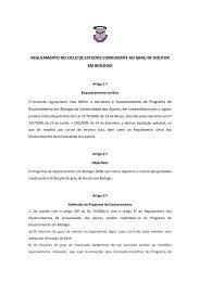 Regulamento do Ciclo de estudos conducente ao grau de Doutor ...